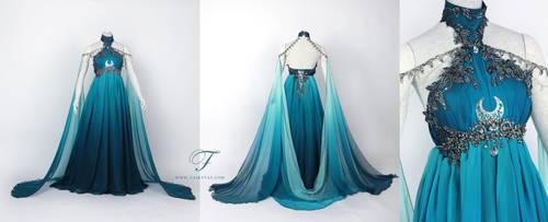 The Dewdrop Dawn bridal gown by Fairytas