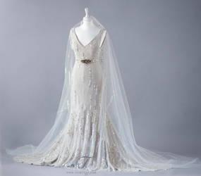 Midsummer Night bridal Gown by Fairytas