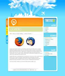The Blue Weblog by Timestius
