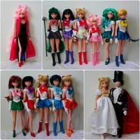 Customized Irwin Sailor Moon Dolls by KatherineAlyce