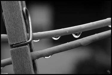 Rainy Day on the Balcony by sahroe
