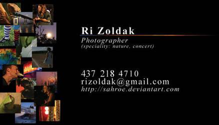 Business Card by sahroe