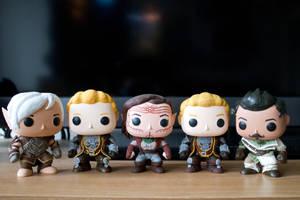 Custom Dragon Age PopVinyl Collection... So Far :P by Magzzz-McD