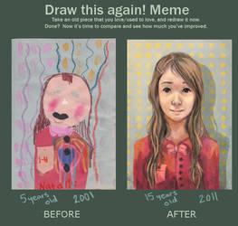 Draw this again meme by bhakri