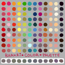 my color palette by bhakri