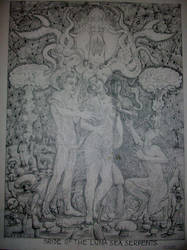 Bride of the Luna Sea Serpents by noirnoize