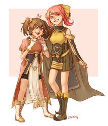 delthea and mae by jsunny