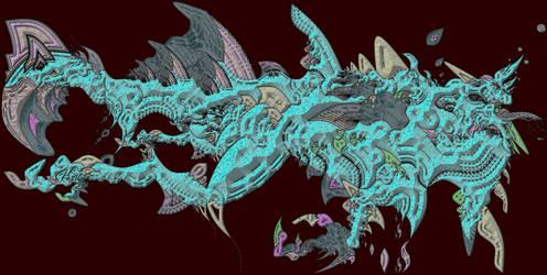 SEA DRAGON 1 - MUTANT NECTOSAURUS - FIRST by D18E12B91Q