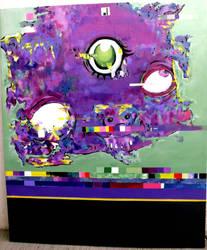 painting glitch...1 by pakodibujos