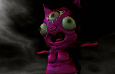 bad pink pig by pakodibujos
