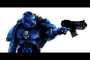 Warhammer 40k Space Marine by old-stone-road