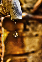 water Drop  by furqanaliqadri