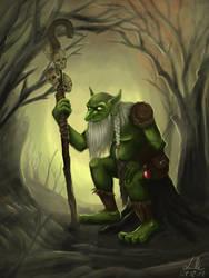 Old shaman troll by Lukecfc
