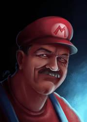 Super Mario Real by Lukecfc