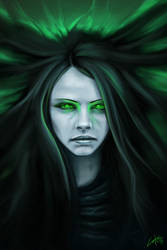 Necromancer girl by Lukecfc