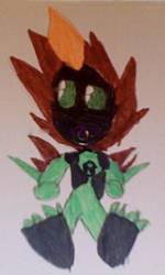 Baby Swampfire by BullFrogJones11