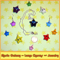 Mario Luma Jewelry and Charms by YellerCrakka