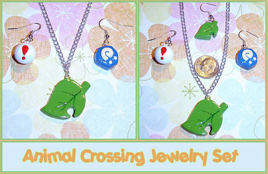 Animal Crossing Jewelry Set by YellerCrakka