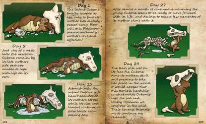 Study on the Birth of Cubones by YellerCrakka