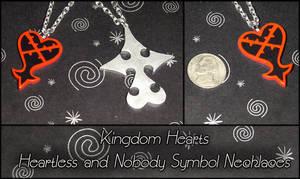 Kingdom Hearts Heartless Charm by YellerCrakka