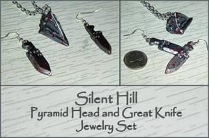 Silent Hill - Pyramid Head Charm Jewelry Set by YellerCrakka