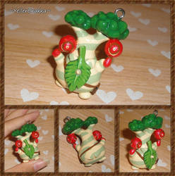 Legend of Zelda - Hestu Charm - BOTW Korok Seed by YellerCrakka