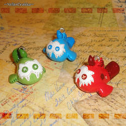Legend of Zelda - Sand Seal Plushie Charms - BOTW by YellerCrakka