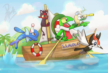 Sailing to a new Journey! by Ppoint555
