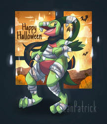 Halloween Lukey~ by Ppoint555