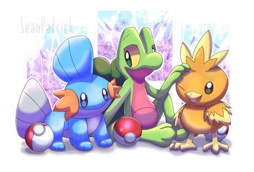 Pokemon Hoenn Starters~ by Ppoint555