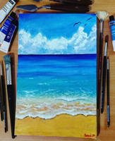 Sea Painting by Ppoint555