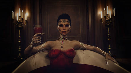 [DAZ3D] - Elisabeth Bathory by PSK-Photo
