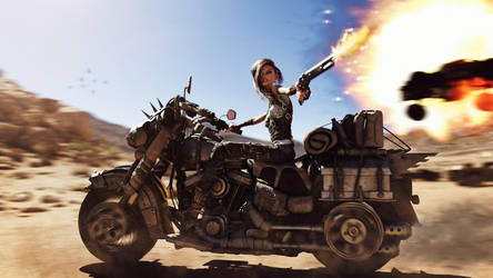 [DAZ3D] - Mad Maxie in Action by PSK-Photo