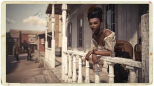 [DAZ3D] -  Salon Girl by PSK-Photo