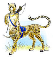 Cheetah-Taur by Relotixke