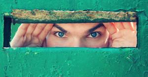 peeping by johnberd