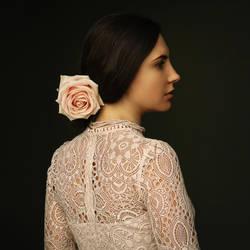 La Dame aux Roses by johnberd