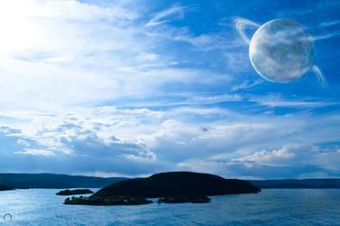 Planet over Norway Dark Edt. by KennethJensen