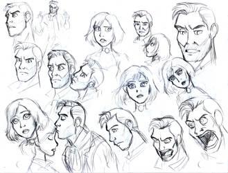 Bioshock Infinite doodle 2 by Trinityinyang