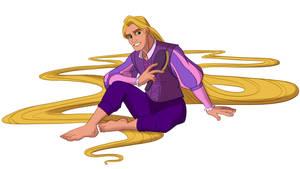 Disney Male Rapunzel (Clean cut) by Trinityinyang