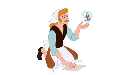 Disney Male Cinderella by Trinityinyang