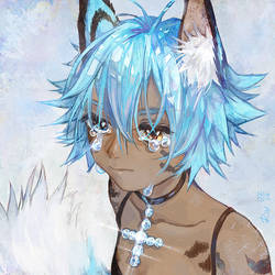 The tears of snow-white sorrow by Shaienny
