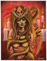 Voodoo Priestess by mr-biggs