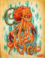 Octopus Anchor by mr-biggs