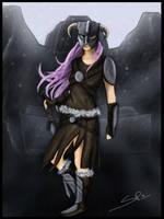 The Dovahkiin Girl by x-RETROspecs-x