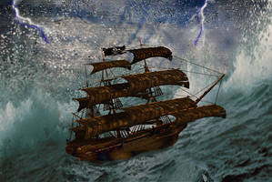 Stormy Seas by LindArtz
