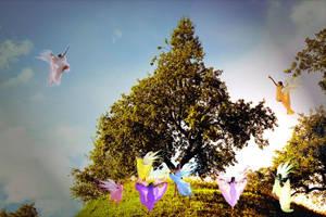 Dance of the Fairies by LindArtz