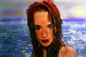Sunset Serenade by LindArtz