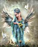 Bounty's Angel  by LindArtz