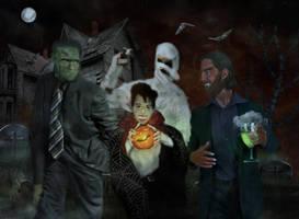 The Monster Mash by LindArtz